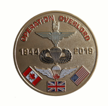 Operation Overlord 75th Anniversary D Day Landings Comemmorative Coin